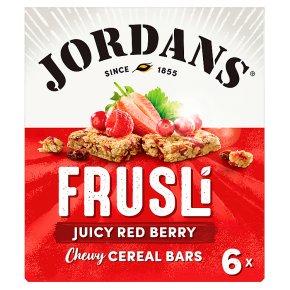 Jordans Frusli Bars Red Berries