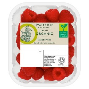 Duchy Organic Raspberries