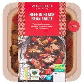 Waitrose Chinese Beef in Black Bean Sauce