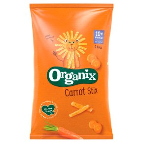 Organix Carrot Stix Toddler Corn Puffs