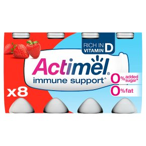 Actimel 0% Fat Strawberry