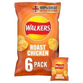 Walkers crisps roast chicken