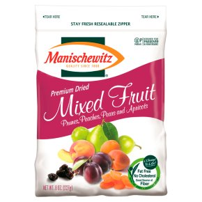 Manischewitz Premium Dried Mixed Fruit
