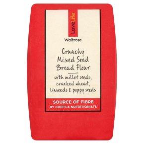 Waitrose LoveLife Crunchy Mixed Seed Bread Flour