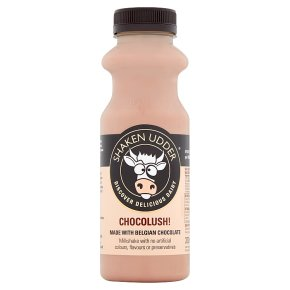 Shaken Udder Chocolush! Milkshake
