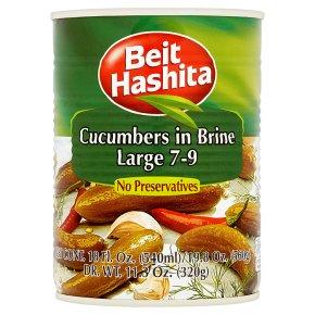 Beit Hashita Cucumbers in Brine Large 7-9