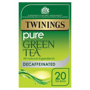 Twinings Pure Green Tea Decaffeinated 20 Tea Bags