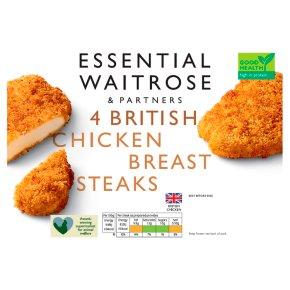 Essential 4 British Chicken Breast Steaks