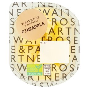 Waitrose Pineapple Chunks