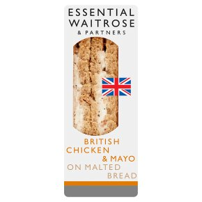 Essential Roast Chicken & Mayo Sandwich