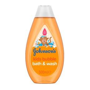 Johnson's Bubble Baby Bath & Wash