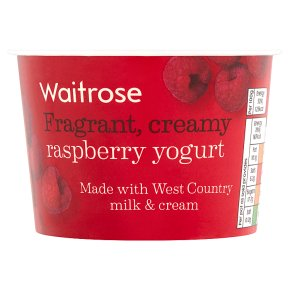 Waitrose Raspberry Yogurt