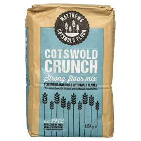 Matthews Cotswold organic flour crunch