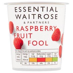 Essential Raspberry Fruit Fool