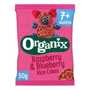 Organix Raspberry Rice Cakes
