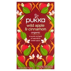 Pukka Organic Wild Apple Cinnamon 20 Tea Sachets