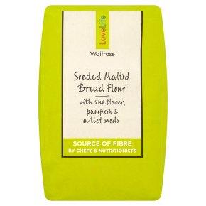 Waitrose LoveLife Seeded & Malted Bread Flour