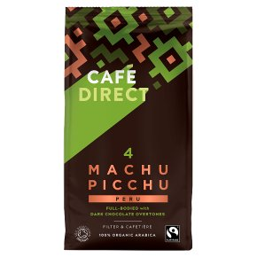 Cafédirect Fairtrade Machu Picchu Ground Coffee