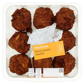 Waitrose World Deli Sweet Potato Falafels