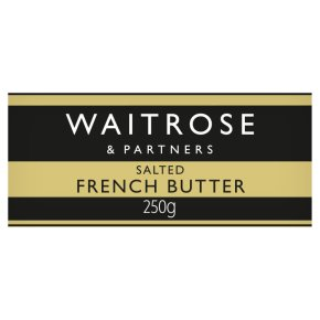 Waitrose French Butter With Sea Salt Crystals