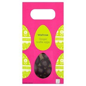 Waitrose ginger truffle mini eggs