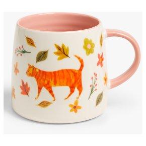 John Lewis Ginger Cat Mug