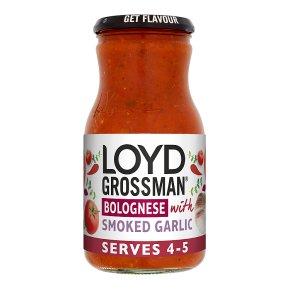 Loyd Grossman Bolognese Sauce with Smoked Garlic