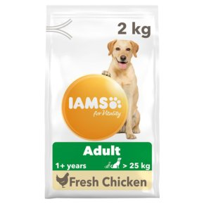 Iams for Vitality Adult >25kg with Chicken