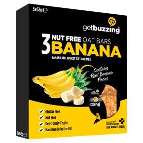 Get Buzzing Banana Bars