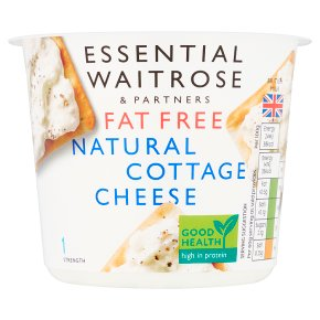 Essential Fat Free Natural Cottage Cheese