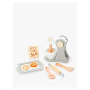 John Lewis Wooden Baking Set