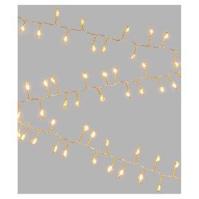 John Lewis 100 Gold Wire Lights