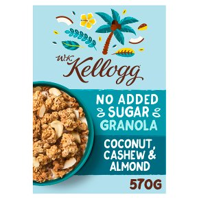 W.K Kellogg Coconut, Cashew & Almond Granola