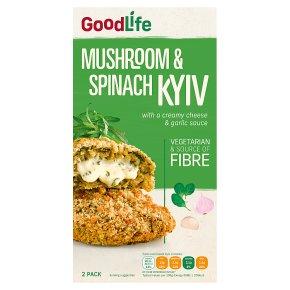 Goodlife 2 Mushroom & Spinach Kievs