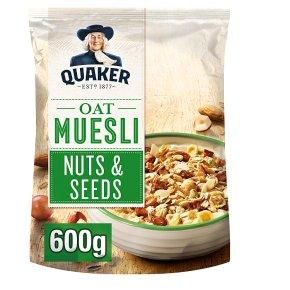 Quaker Nuts & Seeds Oat Muesli