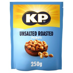 KP Unsalted Roasted Peanuts