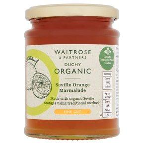 Duchy Organic Seville Orange Marmalade Thin Cut