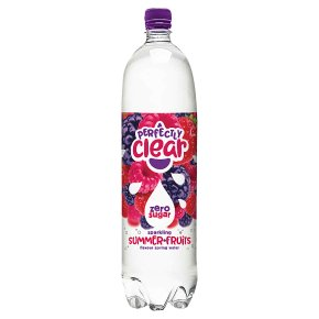 Perfectly Clear Summer Fruits Sparkling Water