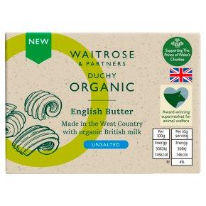 Duchy Organic English Unsalted Butter