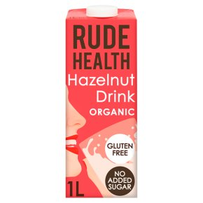 Rude Health Hazelnut Organic Drink