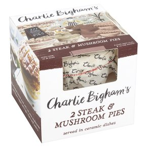 Charlie Bigham's Steak & Mushroom Pie | Waitrose & Partners