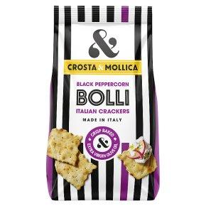 Crosta & Mollica Bolli Crackers With Black Pepper