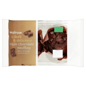 Waitrose Triple Chocolate Muffins