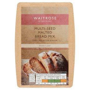 Waitrose Multi Seed Malted Bread Mix