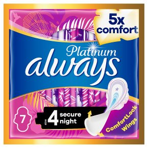 Always Platinum Pads Size 4