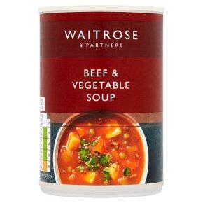Waitrose Beef & Vegetable Soup