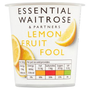 Essential Lemon Fruit Fool