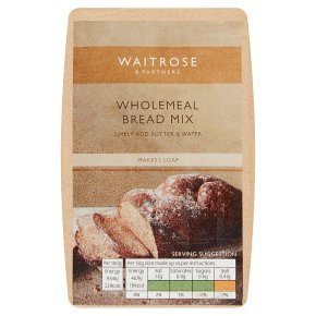 Waitrose Wholemeal Bread Mix