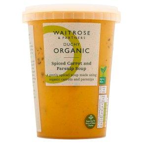 Duchy Organic Spiced Carrot & Parsnip Soup