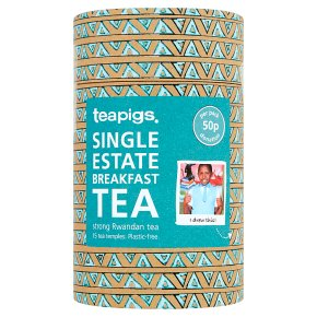 Teapigs Single Estate Breakfast Tea 15s